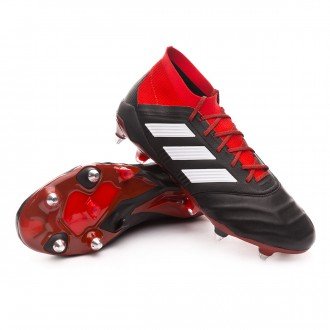 Bota  adidas Predator 18.1 SG Piel Core black-White-Red