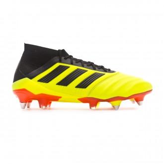 3b3a2e82652 Football Boots adidas Predator 18.1 SG Leather Solar yellow-Black-Solar red