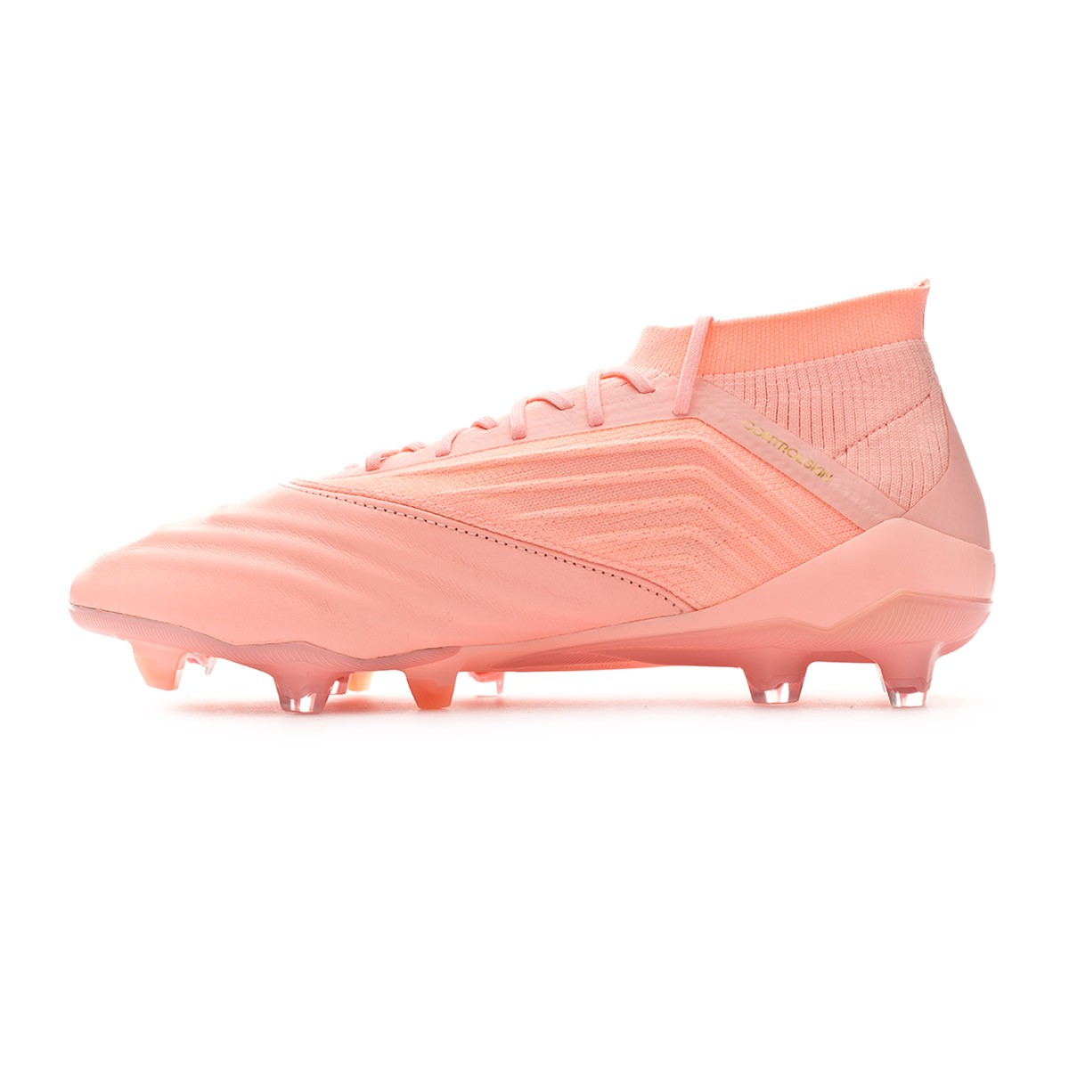 Boot adidas Predator 18.1 FG Piel Clear orange-Trace pink - Leaked soccer ad7057e1ee1a2