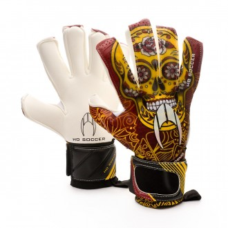 Glove  HO Soccer SSG Supremo II RN Special Lola Gallardo Maroon-Yellow