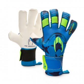 Luvas  HO Soccer Supremo Pro II Kontakt Special Paños Blue