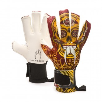 Glove  HO Soccer Supremo Pro II RN Special Lola Gallardo Maroon-Yellow