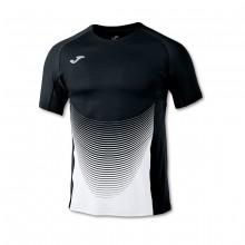 Camiseta Elite VI m/c Negro-Blanco