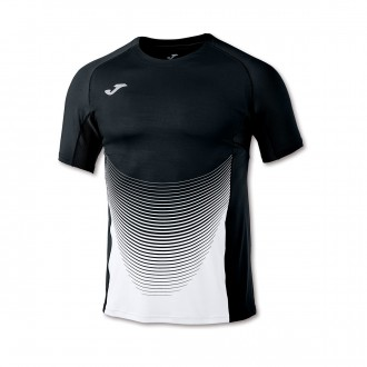Jersey  Joma Elite VI m/c Black-White