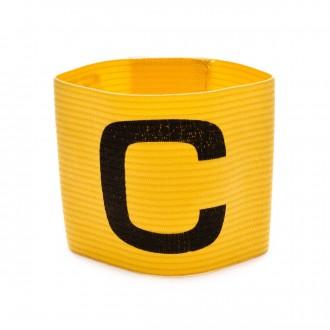 Braçadeira Capitão  SP de capitão com elástico ajustável Amarelo