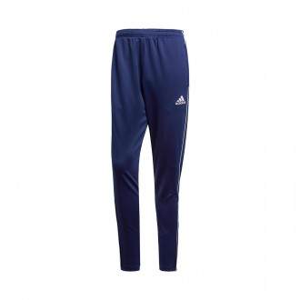 Tracksuit bottoms  adidas Core 18 Training Dark blue-White