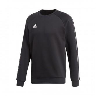Sweatshirt adidas Core 18 Sweat Black-White