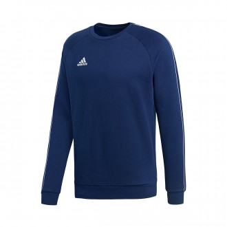 Sweatshirt  adidas Core 18 Sweat Dark blue-White