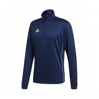 Sweatshirt  adidas Core 18 Training Dark blue-White