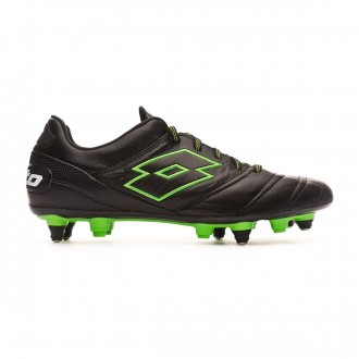 Zapatos de fútbol Lotto Stadio 45 SGX Black-Mint