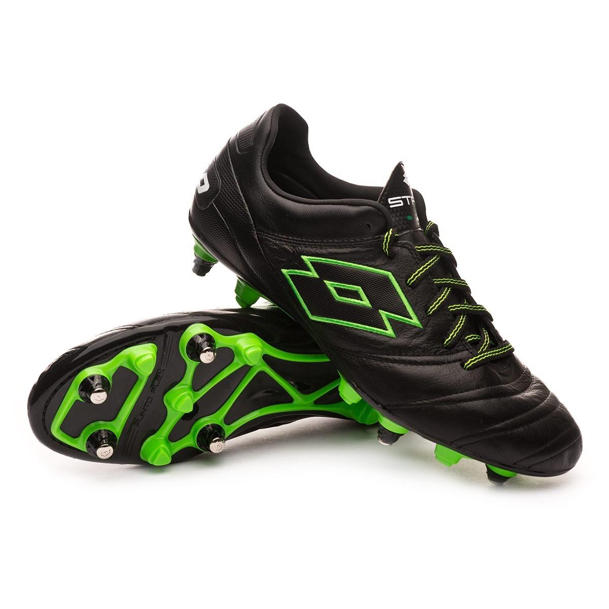 00d01e1fb Football Boots Lotto Stadio 45 SGX Black-Mint - Football store Fútbol  Emotion