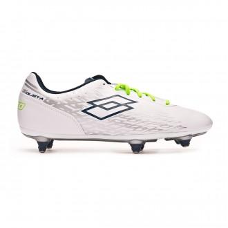 Zapatos de fútbol  Lotto Solista 700 SG White-Blue city