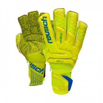 Luvas  Reusch Fit Control Supreme G3 Fusion Ortho-Tec Lime-Safety yellow