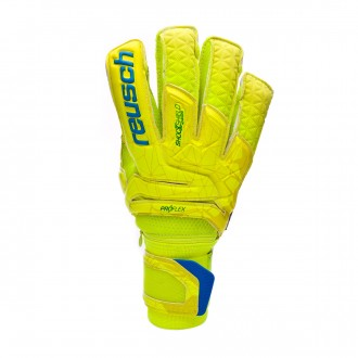 Guante  Reusch Fit Control Supreme G3 Fusion Ortho-Tec Lime-Safety yellow