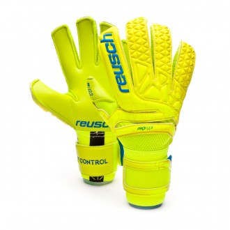 Glove  Reusch Fit Control Pro G3 Lime-Safety yellow