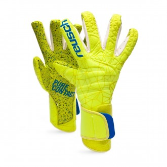 Luvas  Reusch Pure Contact II G3 Fusion Lime-Safety yellow