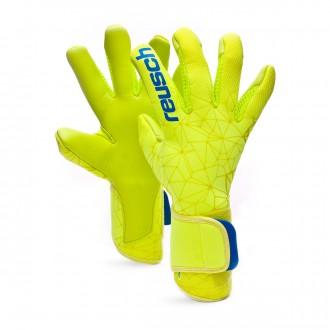 Luvas  Reusch Pure Contact II S1 Lime-Safety yellow