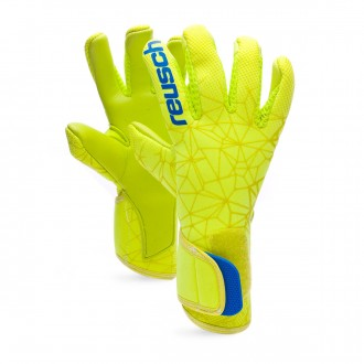 Guanti  Reusch Pure Contact II S1 Junior Lime-Safety yellow