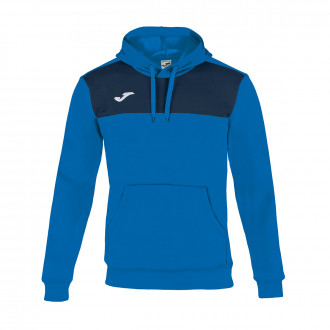 Sweat Joma Capuche Winner Royal-Bleu marine