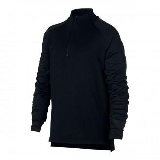Sweatshirt  Nike Dry Squad Niño Black
