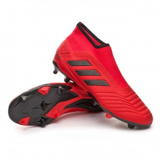 Scarpe   adidas Predator 19.3 FG LaceLess Active red-Solar red-Core black