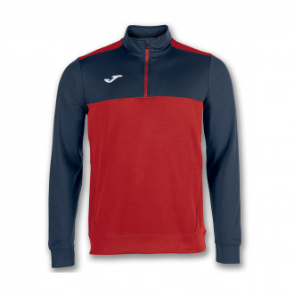 Sweat Joma Winner Rouge-Bleu marine