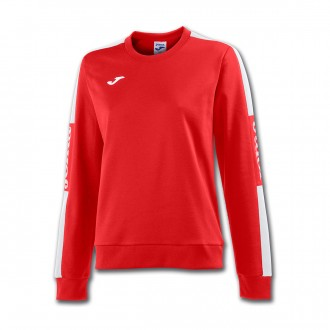 Sweatshirt  Joma Champion IV Mujer Red-White