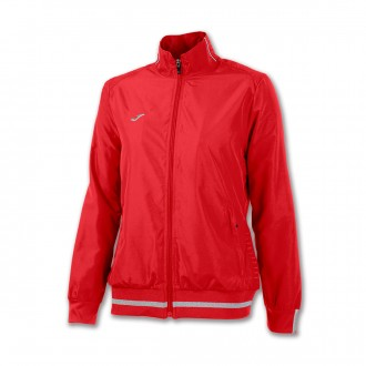 Jacket  Joma Campus II Micro Mujer Red
