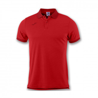 Polo  Joma Essential m/c Rouge