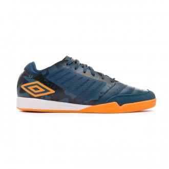 Chaussure de futsal  Umbro Chaleira Pro IC Navy-Gold