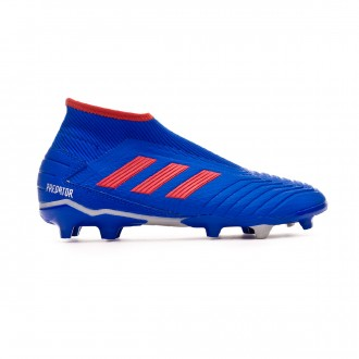 Bota  adidas Predator 19.3 FG LaceLess Bold blue-Active red-Silver metallic