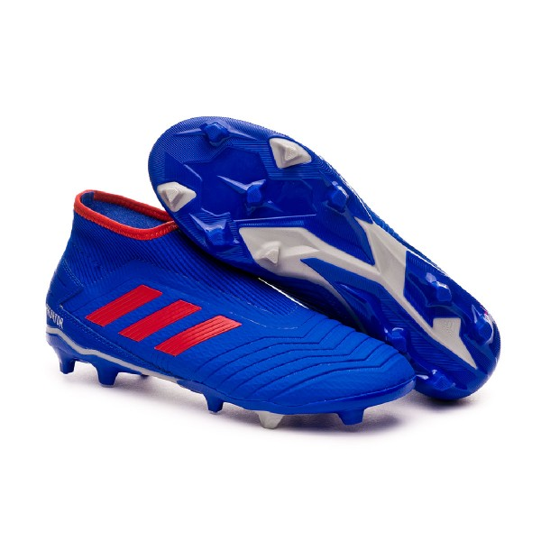 6500a9cd0 Football Boots adidas Predator 19.3 FG LaceLess Bold blue-Active red-Silver  metallic - Tienda de fútbol Fútbol Emotion