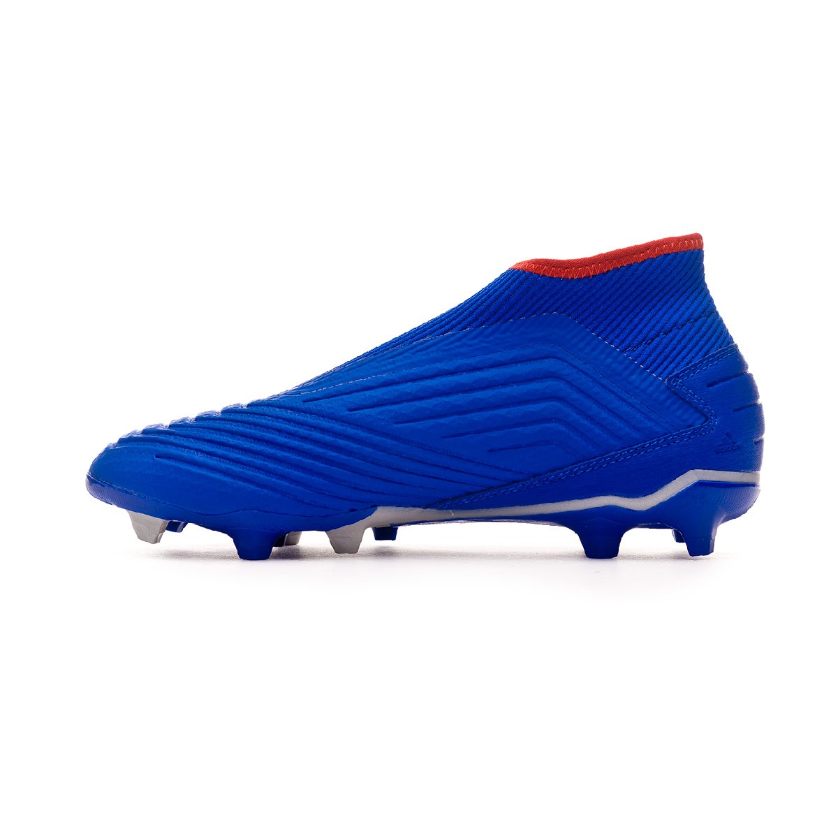 b87dffbe017efe Football Boots adidas Predator 19.3 FG LaceLess Bold blue-Active red-Silver  metallic - Football store Fútbol Emotion