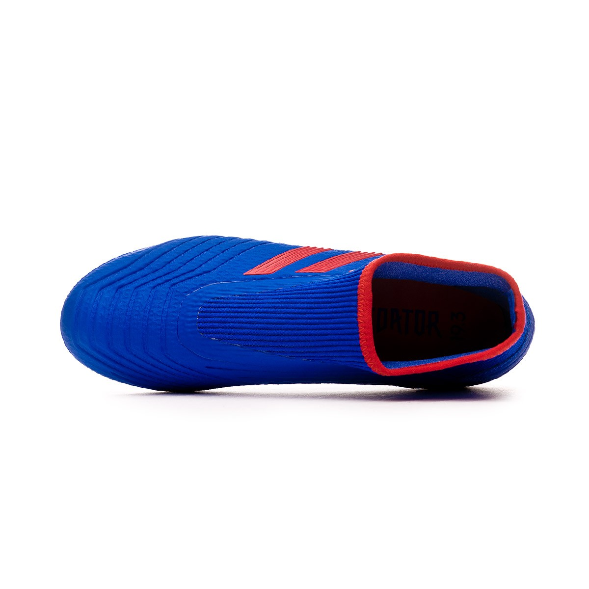 20c3e671023 Chuteira adidas Predator 19.3 FG LaceLess Bold blue-Active red-Silver  metallic - Loja de futebol Fútbol Emotion