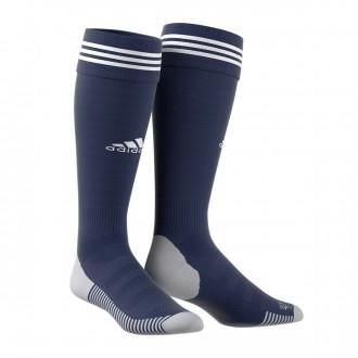 Medias  adidas Adisock 18 Dark blue-White