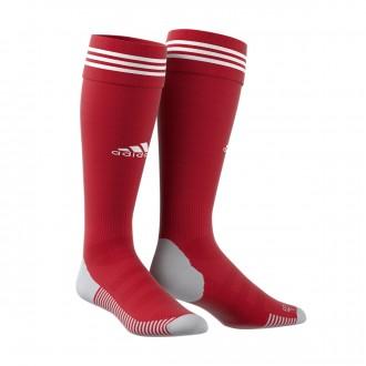 Meias adidas Adisock 18 Power red-White
