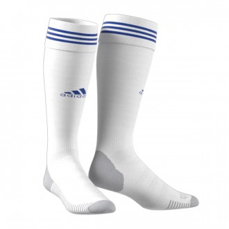 Football Socks adidas Adisock 18 White-Bold blue