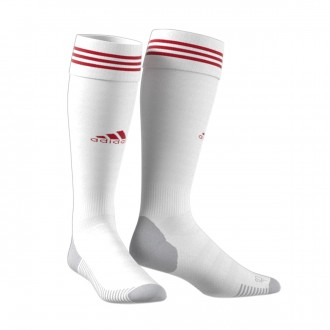 Medias  adidas Adisock 18 White-Power red