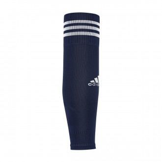 Football Socks  adidas Team Sleeve 18 Dark blue-White