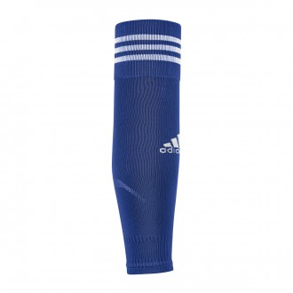 Football Socks  adidas Team Sleeve 18 Bold blue-White