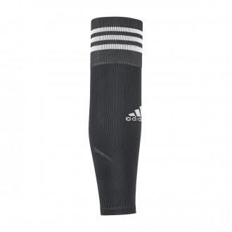 Meias  adidas Team Sleeve 18 Dark grey-White