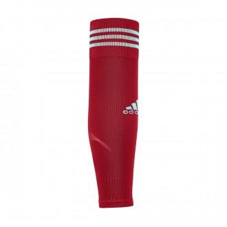 Football Socks  adidas Team Sleeve 18 Power red-Energy aqua