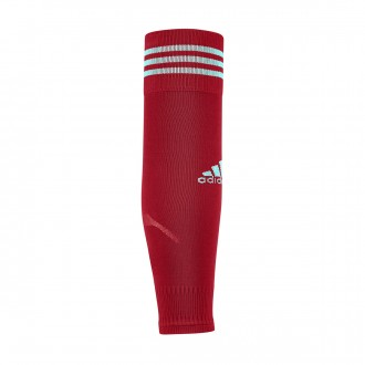 Meias  adidas Team Sleeve 18 Power red-Energy aqua