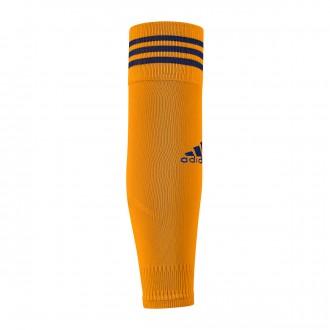 Football Socks  adidas Team Sleeve 18 Lucky orange-Unity ink