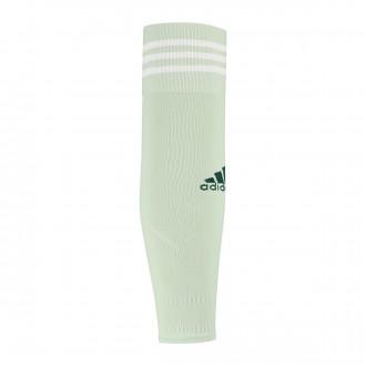 Football Socks  adidas Team Sleeve 18 Aero green-Off white