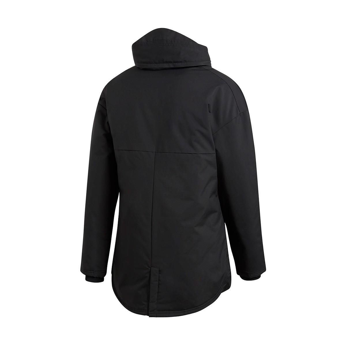 32fdd2ca7e61 Coat adidas Condivo 18 Stadium Parka Black-White - Tienda de fútbol Fútbol  Emotion