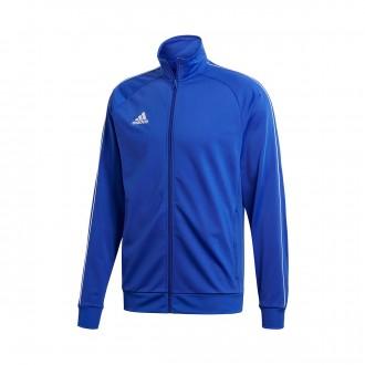 Casaco  adidas Core 18 Polyester Bold blue-White