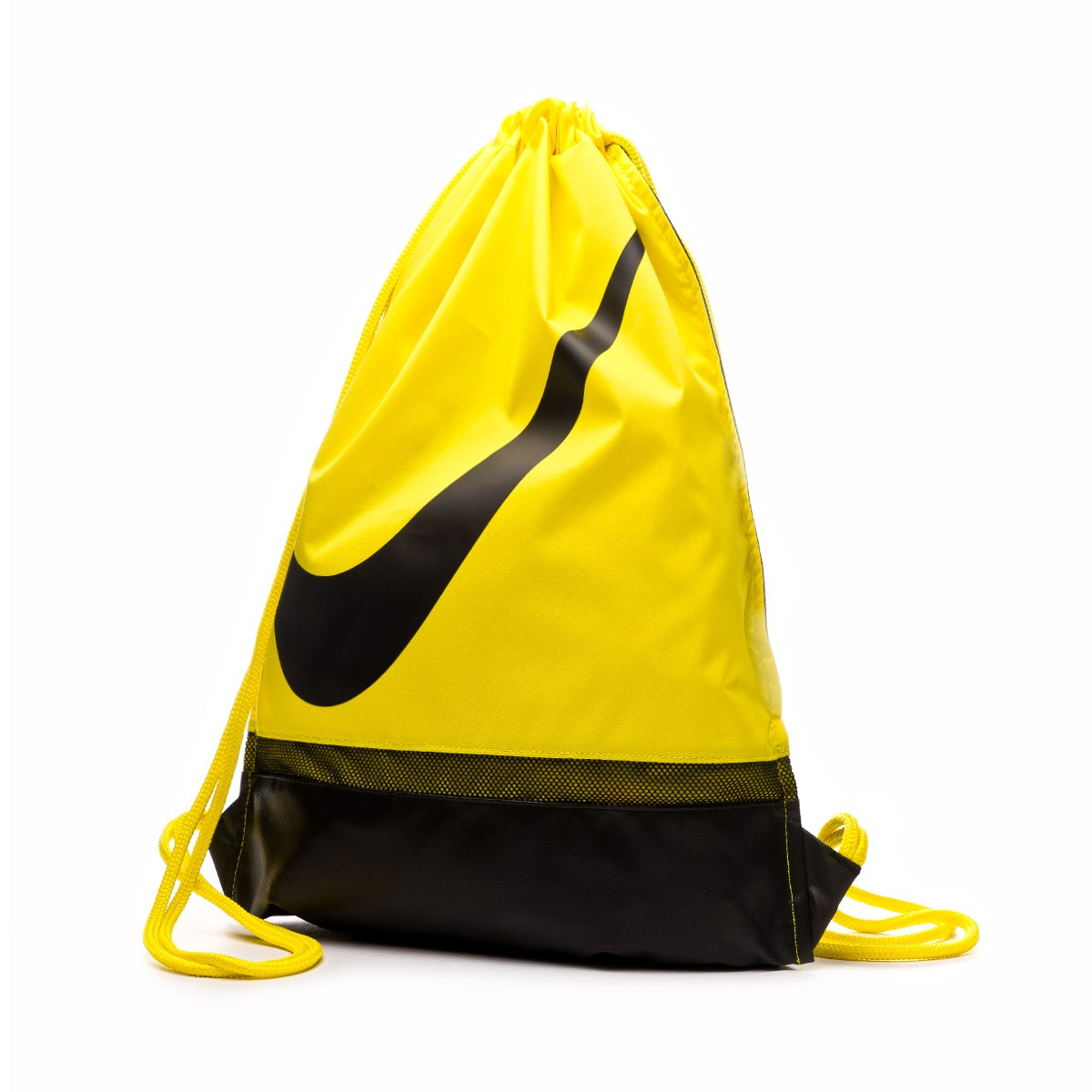196250ae Backpack Nike Gymsack Football Optical yellow-Black - Tienda de ...
