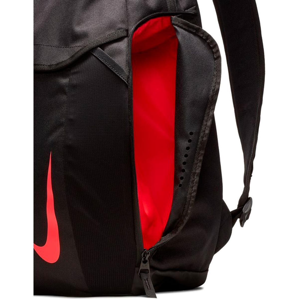 575870138 Backpack Nike Nike Academy Black-Red orbit - Leaked soccer
