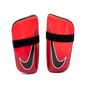 Shinpads  Nike Mercurial Hard Shell In Bright crimson-University red-Black